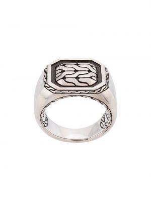 Классическое серебряное кольцо John Hardy