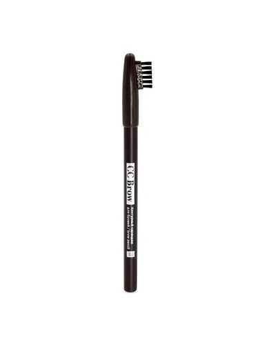 Карандаш для бровей коричневый темно-коричневый Lucas` Cosmetics