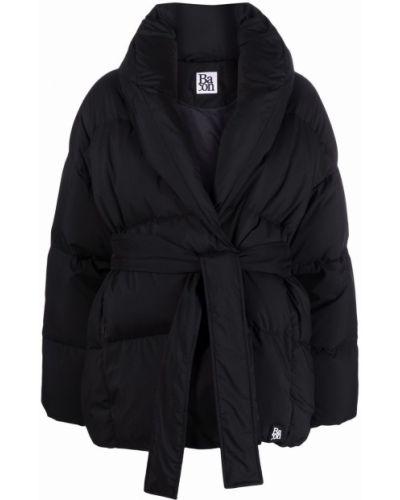 Дутая куртка - черная Bacon