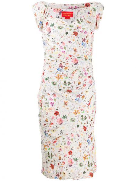 Приталенное платье с вырезом Vivienne Westwood Pre-owned