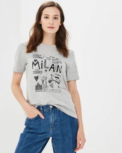 Серая футболка 2019 Tommy Hilfiger
