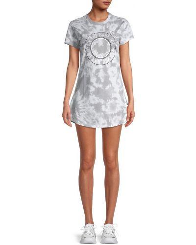Хлопковое повседневное купальное платье с короткими рукавами True Religion