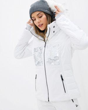 Горнолыжная куртка осенняя белая Luhta