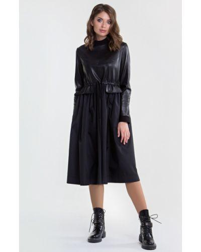 Кожаное платье Filigrana