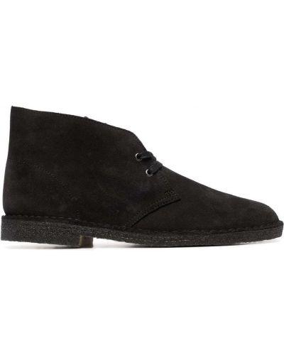 Черные ботинки на шнуровке Clarks Originals