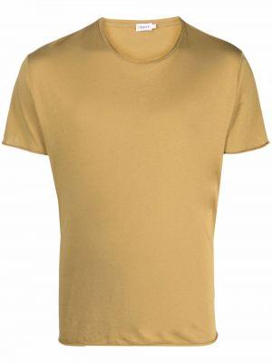 T-shirt bawełniana - khaki Filippa K