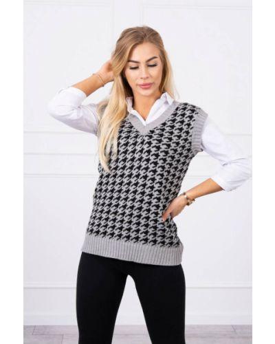 Sweter wełniany bez rękawów Kesi