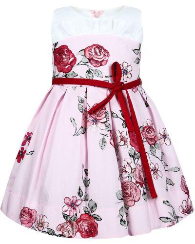 Хлопковое платье - розовое Simonetta