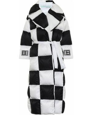 Стеганое пальто био пух пальто Off-white