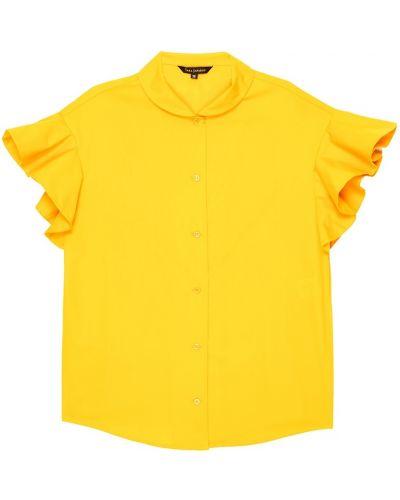 Блузка прямая с воланами на рукавах Tara Jarmon