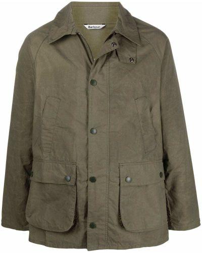 Длинная куртка - зеленая Barbour