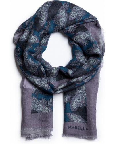 Niebieska szal z wiskozy Marella