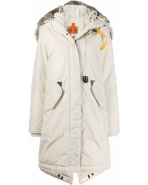 Пуховое пальто с капюшоном Parajumpers
