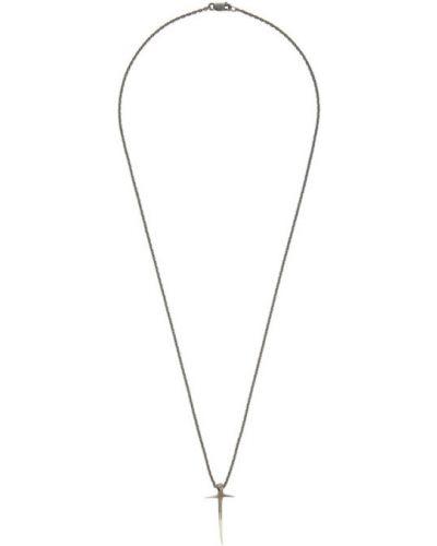 Ожерелье металлический серебряный Pearls Before Swine
