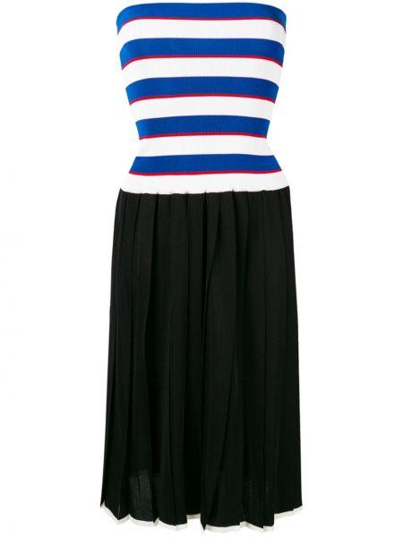 Трикотажное платье миди - черное Sonia Rykiel