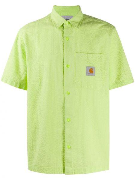 Koszula krótkie z krótkim rękawem klasyczna z logo Carhartt Wip