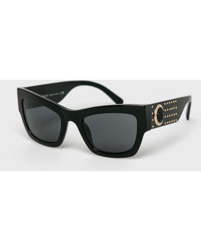 Солнцезащитные очки черные Versace