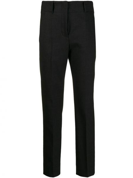 Укороченные брюки с заниженной талией с карманами Incotex