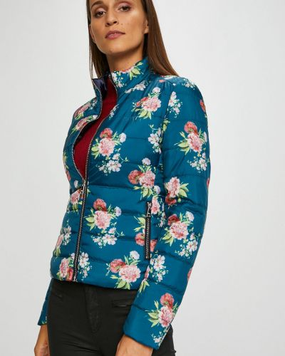 Утепленная куртка укороченная двухсторонняя Liu Jo