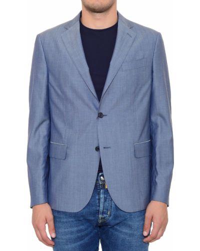 Шерстяной пиджак - серый Corneliani