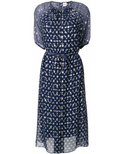 Синее платье мини Paul Smith