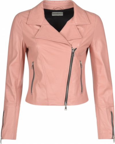 Кожаная куртка - розовая Beatrice.b