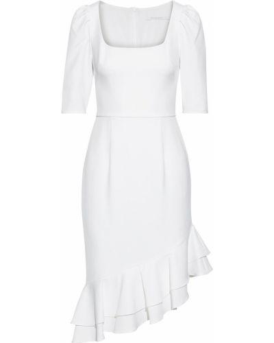 Асимметричное белое платье с подкладкой Black Halo