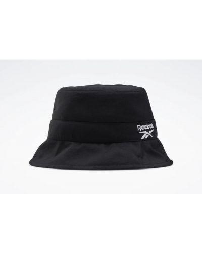 Czarny kapelusz z nylonu z siateczką Reebok