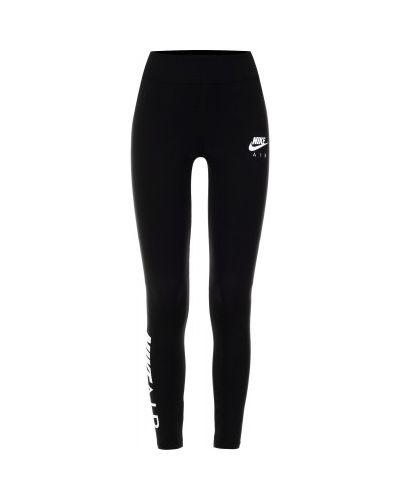 Спортивные брюки хлопковые компрессионные Nike