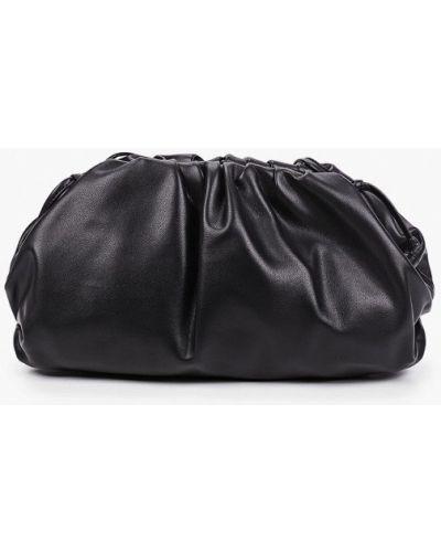 Черная кожаная сумка Marco Bonne