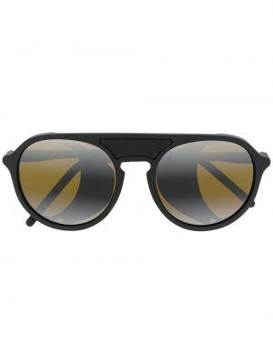 Солнцезащитные очки хаки круглый Vuarnet