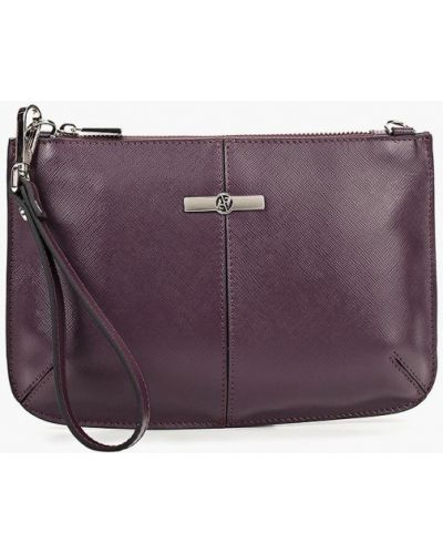 Фиолетовый клатч Afina