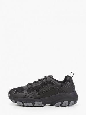 Черные резиновые кроссовки Kappa