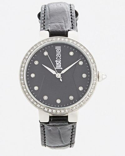 Черные кварцевые часы Just Cavalli
