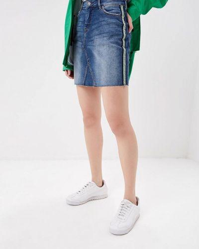 Джинсовая юбка синяя Blendshe
