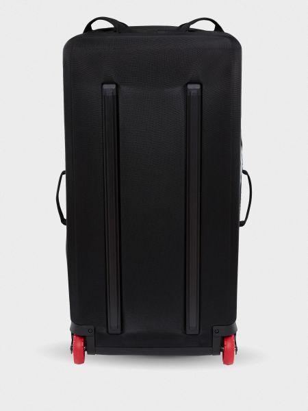 Черный чемодан на молнии с карманами The North Face