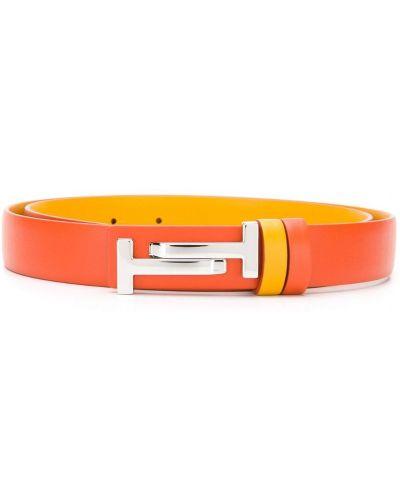 Ремень оранжевый Tods