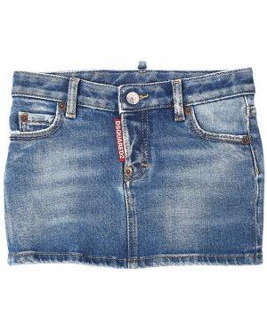 Jeansy z logo rozciągać Dsquared2