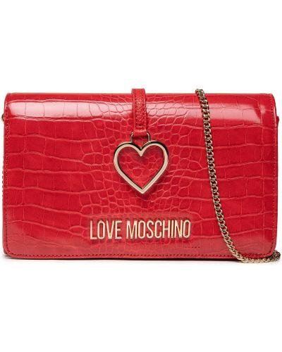 Torebka - czerwona Love Moschino