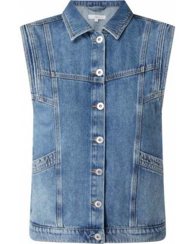 Niebieska kamizelka jeansowa Jake*s Casual