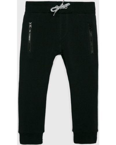 Czarne spodnie bawełniane Name It
