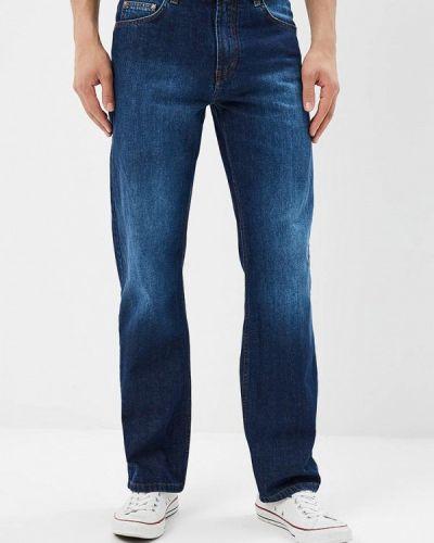 Синие прямые джинсы F5