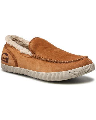 Brązowe sandały Sorel