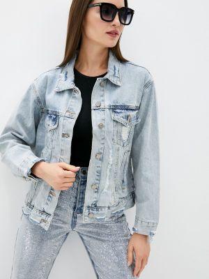 Джинсовая куртка - голубая Lusio