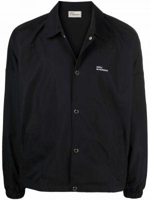 Czarna koszula z długimi rękawami Drole De Monsieur