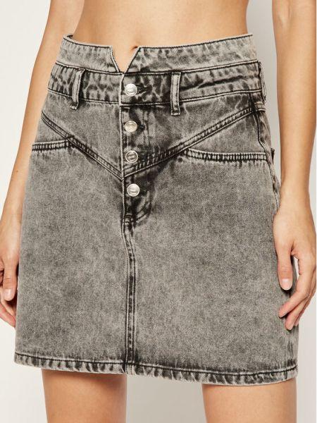 Spódnica jeansowa - szara Silvian Heach