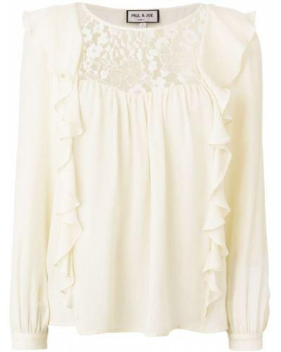 Кружевная блузка шелковая Paul & Joe