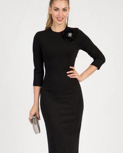 Черное платье-футляр Olivegrey