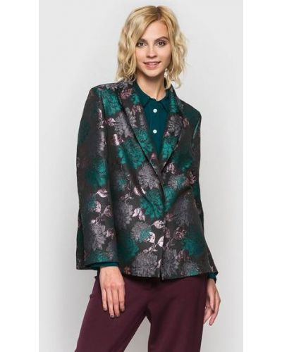 Пиджак из парчи - серый Vovk