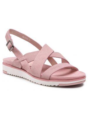 Różowe sandały Big Star